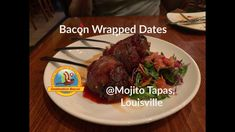 Bacon Videos, Bacon Wrapped Dates, Tapas Restaurant, Mojito, Beef, Check, Food, Meat, Essen