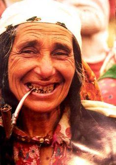 Romanian gypsy woman 1991