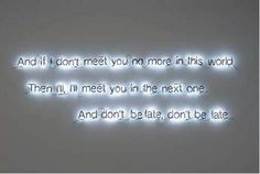 Neon by artist Cerith Wyn Evans   Maman tu me manques!