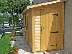 Abri Jardin Bois Lounge 3 avec extension - WEKA   Amenagement ...