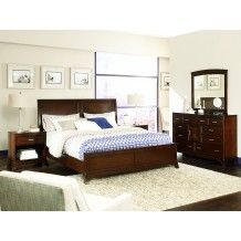 Essex Low Profile Sleigh Bed (King) by American Drew Price:$1,210.00