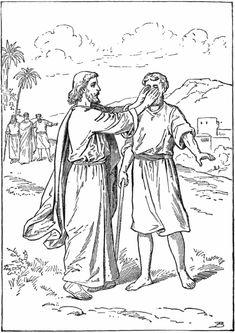 Jesus heals bartamais