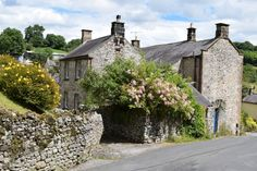 Bonsall is a village in the Derbyshire Dales located on the edge of the Peak District. It is an ancient village and was recorded in the Domesday Book in Domesday Book, Peak District, Derbyshire, Green Grass, House Styles, Places, Travel, Homes, Image