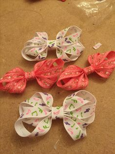 Crafting bows for snap clips - www.dreambows.co.uk