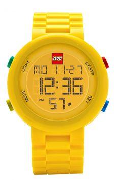LEGO consiente a los grandes con una colección de relojes