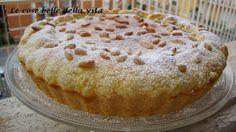 Le Cose Belle della Vita: Crostata ripiena di crema profumata a limone e pinoli