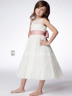 tea length girl dress 1590e625fdd3