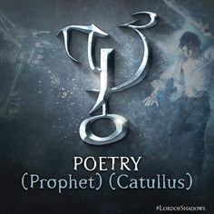 We're still so happy #LordOfShadows is finally out! We might be inspired by this rune to write poetry in its honor. Are you with us? @ShadowhunterBks