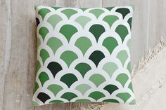 Geometry in Colors 3 Pillow by lulu and isabelle | Minted