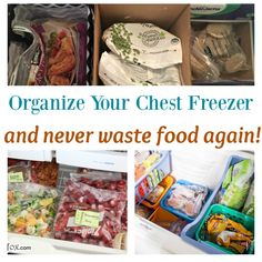 Organize a Chest Freezer and Never Waste Food Again