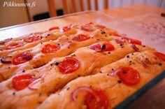 Pikkuunen: Tomaattifoccacia