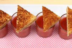Chic Bridal Shower Menu Idea: Mini Comfort Foods
