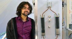 Un jeune ingénieur présente sa «douche infinie» écologique