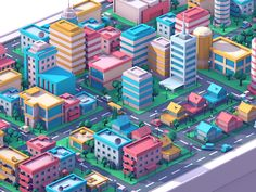 Hey guys! Remember our low poly city shot? Here is closer look on it, and you…