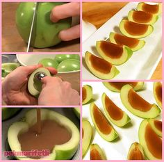 Dolgulu elma dilimleri | Mutfak | Pek Marifetli!