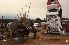 Glastonbury 80's avec Mutoïd Waste Co