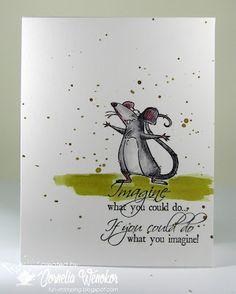 Stempel Spass: Imaginative Rat