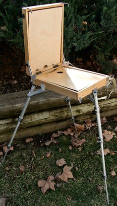 Vintage Medium French Field Easel, Portable Art Easel, Folding Art Easel, Made in Russia by DomesticTitanVintage on Etsy