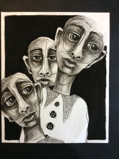 Deb Weiers - The Three Faces of Eve