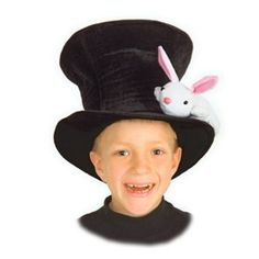 Complete with a detachable bunny and a secret compartment so your magicians can amaze their friends with an easy trick. $19.99 #magic #costume #toy