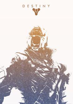 Alternative poster for Destiny by Adam Doyle. #Poster #Destiny