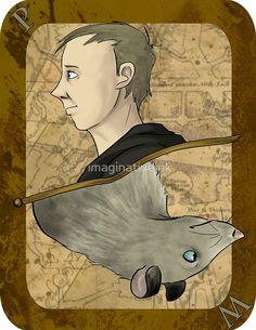Peter Pettigrew Playing Card by imaginativeink