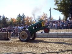 Sandwich Fair tractor pull