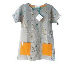 Indikidual Frizzy Straw T-shirt Dress   Scandinavian Minimall