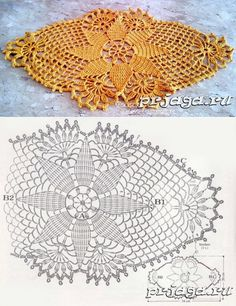 Japanese Crochet Patterns, Free Crochet Doily Patterns, Crochet Doily Diagram, Crochet Flower Tutorial, Crochet Circles, Crochet Chart, Crochet Motif, Crochet Designs, Hand Crochet