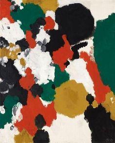 Jota Artist: Ernst Wilhelm Nay Completion Date: 1959 Style: Art Informel Genre: abstract