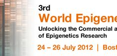 3rd World Epigenetics Research Summit