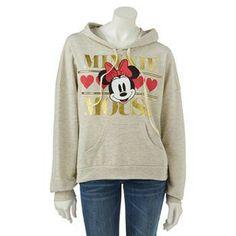 Disney Minnie Mouse Foil Sweatshirt #MinnieStyle