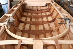 Building a Luzier 16 Outboard Skiff, designed by George Luzier, Sarasota, Florida Wooden Model Boats, Wooden Boat Building, Boat Building Plans, Wood Boats, Make A Boat, Build Your Own Boat, Diy Boat, Wood Boat Plans, Canoe Plans