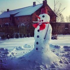 I am still standing … #igersgdansk #snowman #balwan #zima #winter #poland