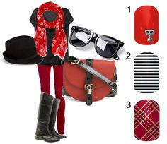 Texas Tech Red Raiders check out more designs at http://jenbushnell.jamberrynails.net/