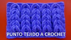 Punto trenzas en relieve a crochet