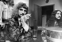 Photo of URIAH HEEP; David Byron Mick Box - Uriah Heep, May 1974. Stockholm, Sweden