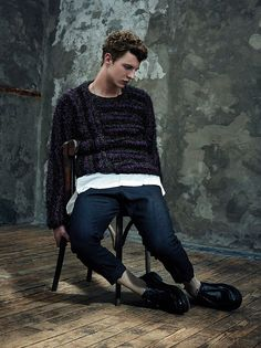 Tim Schuhmacher captured by the lens of Thomas Goldblum, for the latest issue of Hercules magazine.