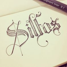 very nice stylized it gives the impression of a musical note with shape of the lettering and the way S is done with the line through it.