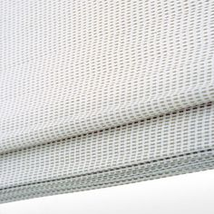 Folding blind with chain.