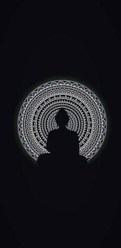Buddha Wallpaper Iphone, Black Wallpaper Iphone Dark, Pop Art Wallpaper, Minimalist Wallpaper, Painting Wallpaper, Buddha Wall Painting, Budha Painting, Buddha Artwork, Buddha Wall Art