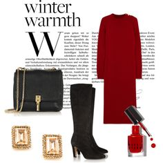 """""""winter warmth"""" by dearmissj on Polyvore"""