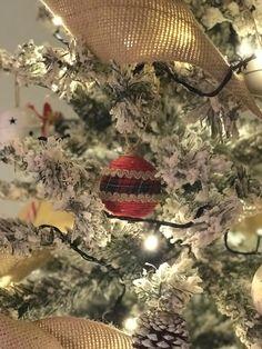 Renovated Christmas's ornament-Adorno de Navidad renovado