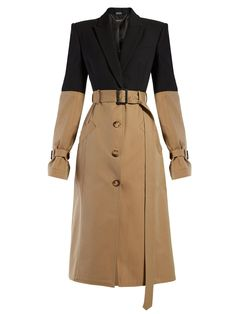 Shop the last 7 days womenswear deliveries from MATCHESFASHION. Luxury Designer clothes, shoes, bags and accessories from designer brands including DVF, Christian Louboutin and Alexander McQueen. Winter Coats Women, Coats For Women, Alexander Mcqueen, Black Women Fashion, Womens Fashion, One Piece Clothing, Mode Mantel, Coat Dress, Women Wear