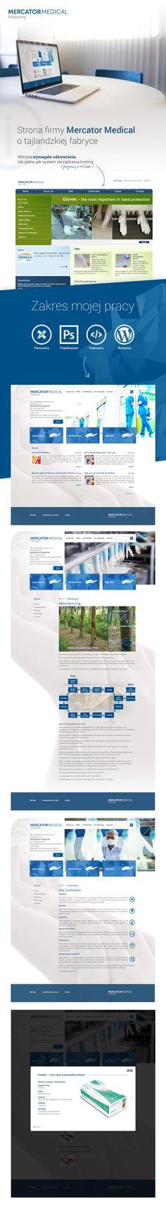 Mercator Medical Thailand | Webdesign | Wordpress | Design | Web graphics