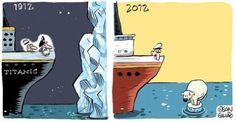 Kinda funny! Climate Change / Titanic