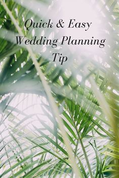 Quick Wedding Planning Tip - What's the one area that you think your wedding planning will affect the most?  It's not your relationships (although those will come into play).  It's not making decisions (although you will need to make many).  It's not your bank account (although that will get a work out).  Are you ready?  Found out what it is on today's blog post!