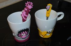 Fimo hrnečky Mugs, Tableware, Fimo, Dinnerware, Tumbler, Dishes, Mug, Place Settings