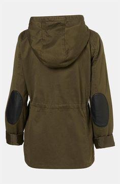 Topshop Hooded Utility Jacket | Nordstrom