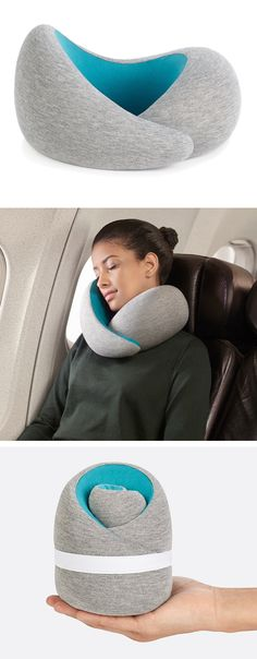 Memory Foam travel pillow...for the jetsetter on your list